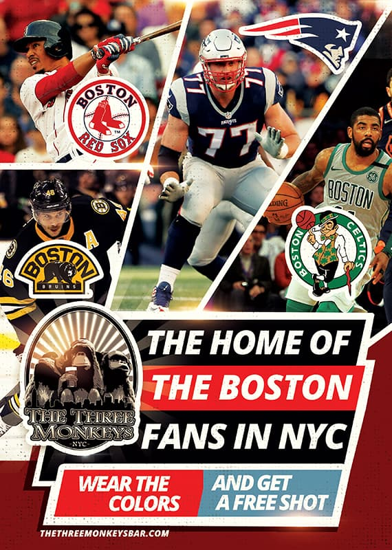 The home the Boston teams.